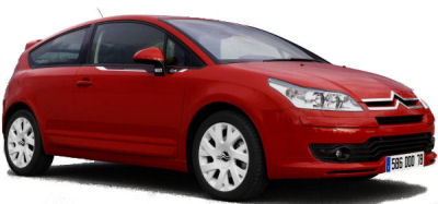 Présentation de la <b>Citroën C4 by Loeb</b> de 2007, une version sportive limitée et numérotée de la Citroën C4, basée sur la version VTS du coupé.